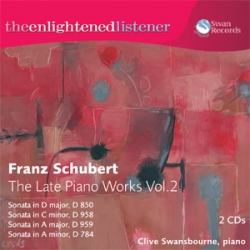 Franz Schubert, The Late Piano Works Vol 2